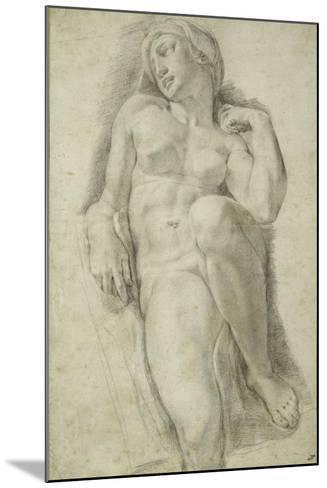 Aurora, after Michelangelo Buonarroti-Francesco De Rossi Salviati Cecchino-Mounted Giclee Print