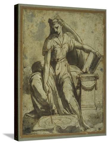 Geometry-Perino Del Vaga-Stretched Canvas Print