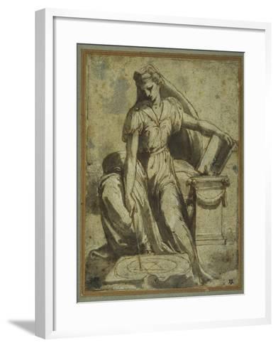 Geometry-Perino Del Vaga-Framed Art Print
