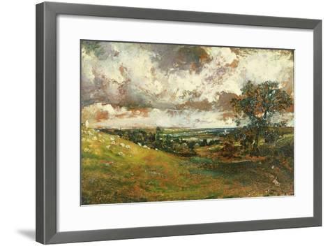 Coastal Scene-John Constable-Framed Art Print
