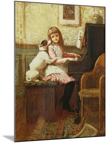 Drink to Me Only with Thine Eyes-Charles Trevor Garland-Mounted Giclee Print
