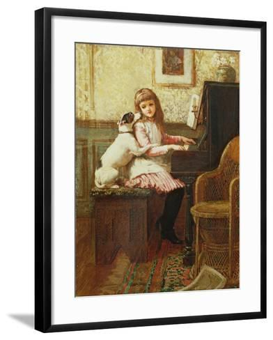 Drink to Me Only with Thine Eyes-Charles Trevor Garland-Framed Art Print