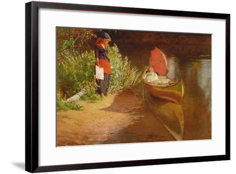 Marooned-Edward John Gregory-Framed Art Print