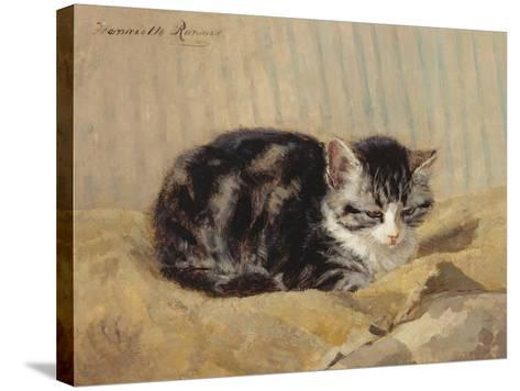The Tabby-Henriette Ronner-Knip-Stretched Canvas Print