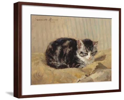 The Tabby-Henriette Ronner-Knip-Framed Art Print