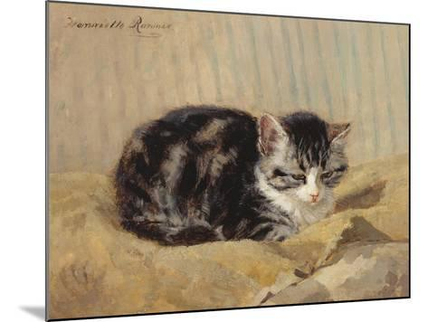 The Tabby-Henriette Ronner-Knip-Mounted Giclee Print