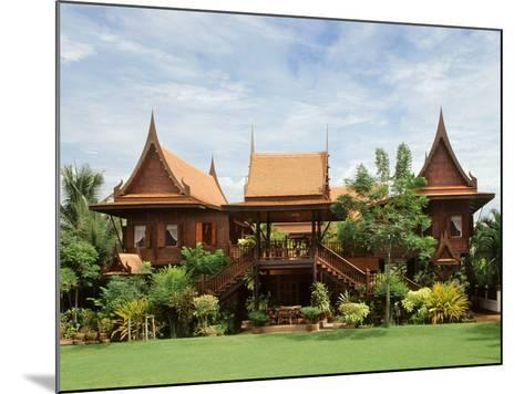 A Contemporary Thai Style House--Mounted Photographic Print
