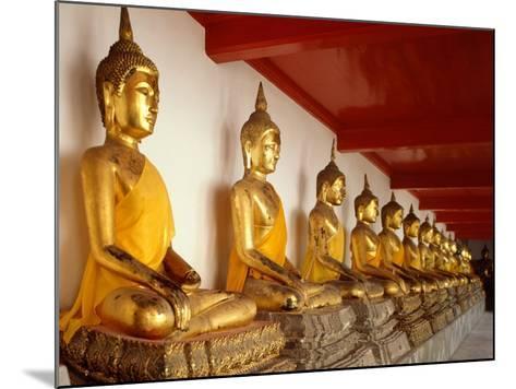 Ayutthaya Period Buddha Images--Mounted Photographic Print