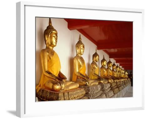 Ayutthaya Period Buddha Images--Framed Art Print