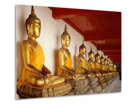 Ayutthaya Period Buddha Images--Metal Print