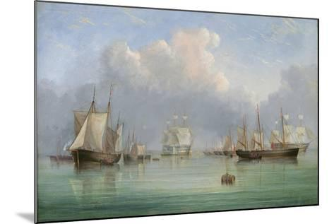 Ships Off Ryde-Arthur Wellington Fowles-Mounted Giclee Print