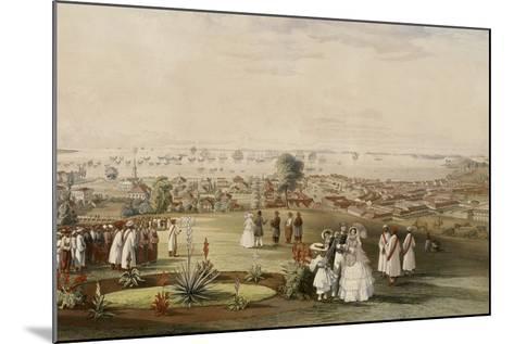 View of Singapore from Fort Canning, 1846-John Turnbull Thomson-Mounted Giclee Print