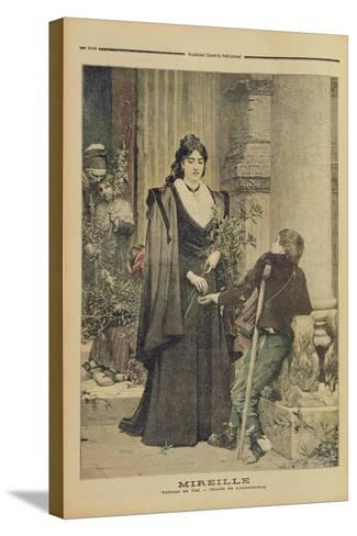 Mireille, from the Illustrated Supplement of 'Le Petit Journal', 18th November 1893-Pierre-Auguste Cot-Stretched Canvas Print