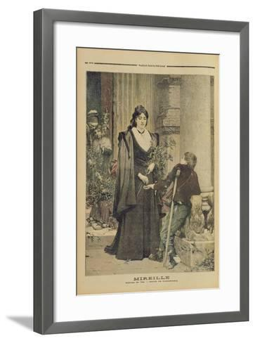 Mireille, from the Illustrated Supplement of 'Le Petit Journal', 18th November 1893-Pierre-Auguste Cot-Framed Art Print
