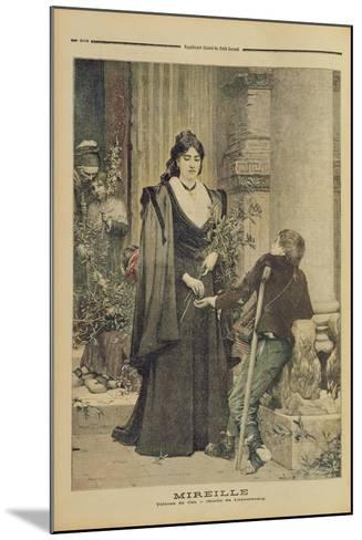 Mireille, from the Illustrated Supplement of 'Le Petit Journal', 18th November 1893-Pierre-Auguste Cot-Mounted Giclee Print