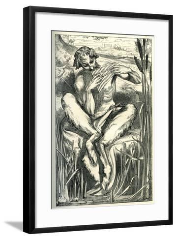 The Great God Pan, 1860-Frederick Leighton-Framed Art Print