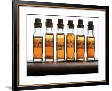 Thai Aromatherapy Massage Oils--Framed Art Print