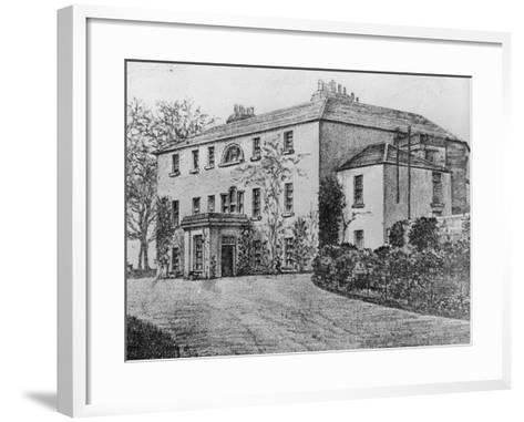 Coole Park, County Galway--Framed Art Print