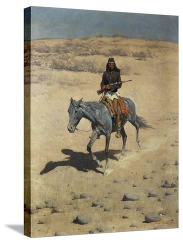 Apache Scout-Frederic Sackrider Remington-Stretched Canvas Print