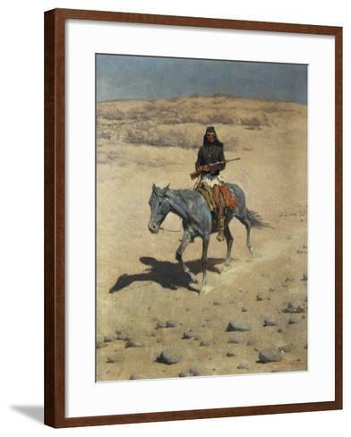 Apache Scout-Frederic Sackrider Remington-Framed Art Print