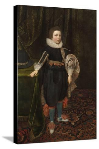 Portrait of a Boy, Early to Mid 1620s-Daniel Mytens-Stretched Canvas Print