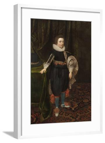 Portrait of a Boy, Early to Mid 1620s-Daniel Mytens-Framed Art Print