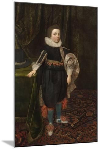 Portrait of a Boy, Early to Mid 1620s-Daniel Mytens-Mounted Giclee Print