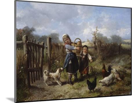 An Arbitary Dog-Jan Mari Henri Ten Kate-Mounted Giclee Print
