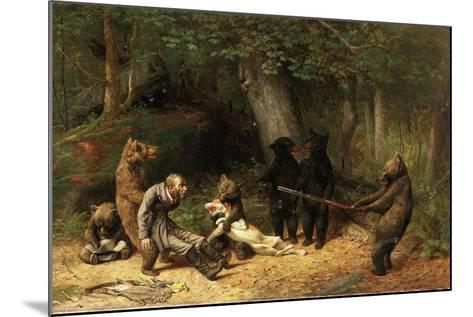 Making Game of the Hunter, 1880-William Holbrook Beard-Mounted Giclee Print