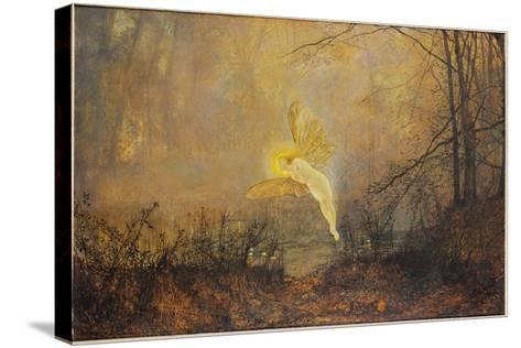 Midsummer Night, or 'Iris', 1876-John Atkinson Grimshaw-Stretched Canvas Print