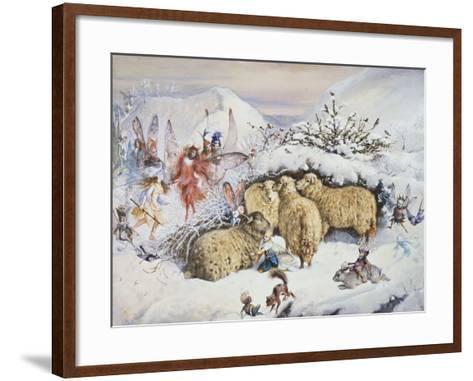Fairies in the Snow-John Anster Fitzgerald-Framed Art Print