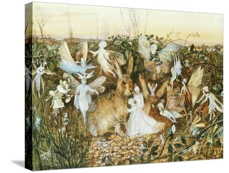 Fairy Twilight-John Anster Fitzgerald-Stretched Canvas Print