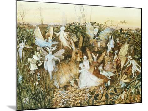 Fairy Twilight-John Anster Fitzgerald-Mounted Giclee Print