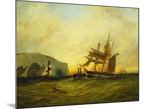 Off the Needles, Isle of Wight, 1899-George Gregory-Mounted Giclee Print
