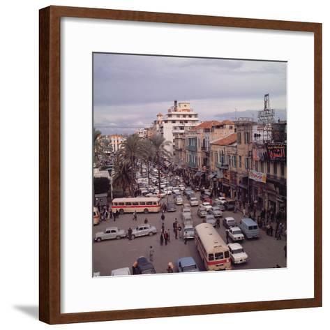 Beirut in 1971--Framed Art Print