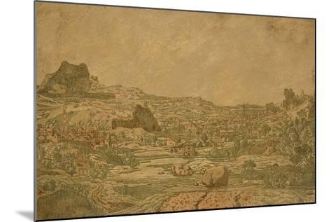 Town with Four Towers, C.1631 or Later-Hercules Segers-Mounted Giclee Print