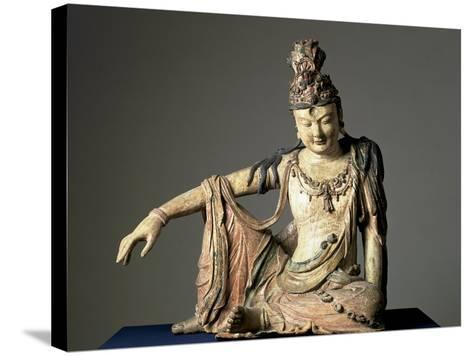 Water-And-Moon (Shuiyue) Guanyin, Xixia or Jin Dynasty, 12th or Early 13th Century--Stretched Canvas Print