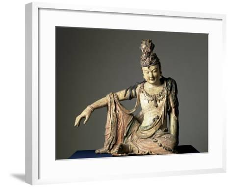 Water-And-Moon (Shuiyue) Guanyin, Xixia or Jin Dynasty, 12th or Early 13th Century--Framed Art Print