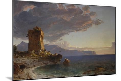 The Isle of Capri, 1893-Jasper Francis Cropsey-Mounted Giclee Print