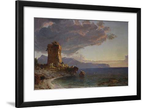 The Isle of Capri, 1893-Jasper Francis Cropsey-Framed Art Print