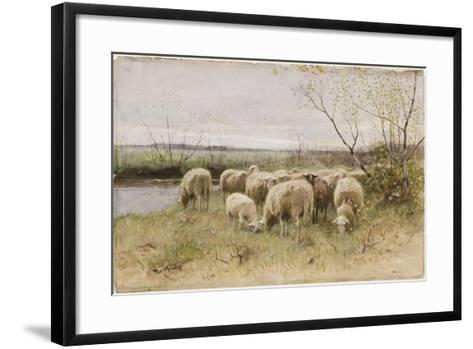 Sheep-Francois Pieter Ter Meulen-Framed Art Print