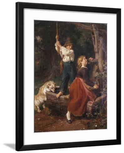 The Water Pump-Felix Schlesinger-Framed Art Print