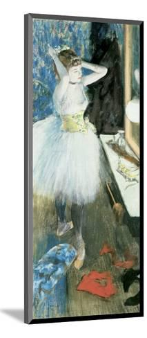 Dancer in Her Dressing Room, C.1879-Edgar Degas-Mounted Giclee Print
