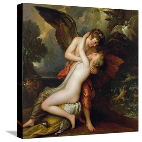 Cupid and Psyche, 1808-Benjamin West-Stretched Canvas Print