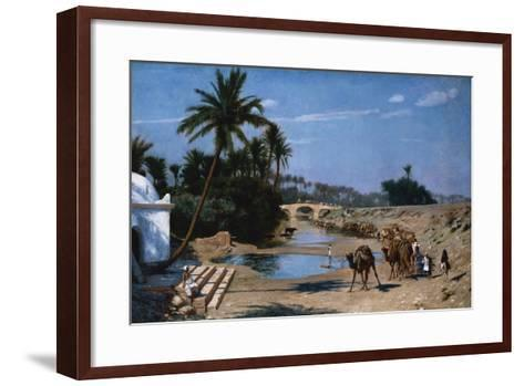 The Caravan-Jean Leon Gerome-Framed Art Print