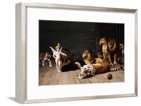 Whoever You Are, Here Is Your Master (Love, the Conqueror)-Jean Leon Gerome-Framed Art Print