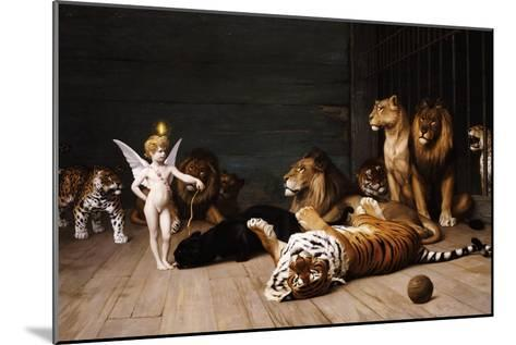 Whoever You Are, Here Is Your Master (Love, the Conqueror)-Jean Leon Gerome-Mounted Giclee Print