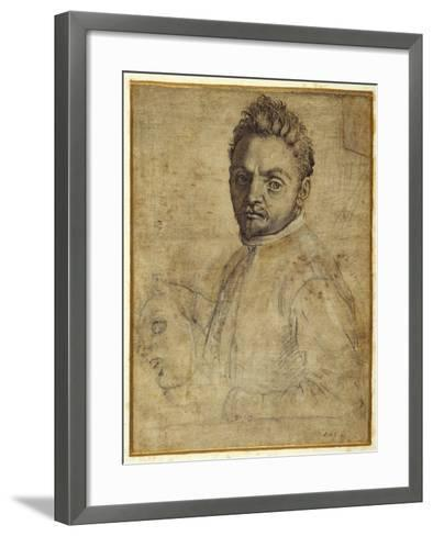 Giovanni Gabrielli, 'Il Sivello'-Agostino Carracci-Framed Art Print