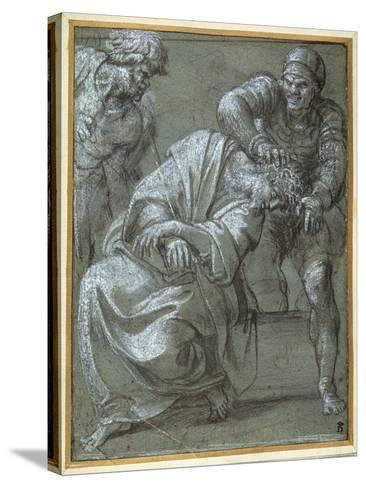 Christ Crowned with Thorns, 1605-06-Annibale Carracci-Stretched Canvas Print