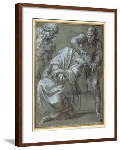 Christ Crowned with Thorns, 1605-06-Annibale Carracci-Framed Art Print